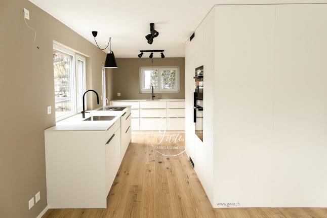 Einbau der neuen Küche, Wandfarbe, Parkettboden und der Job als Bauleiterin