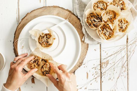 DIY Muffinförmchen & gesunde Frühstücksmuffin