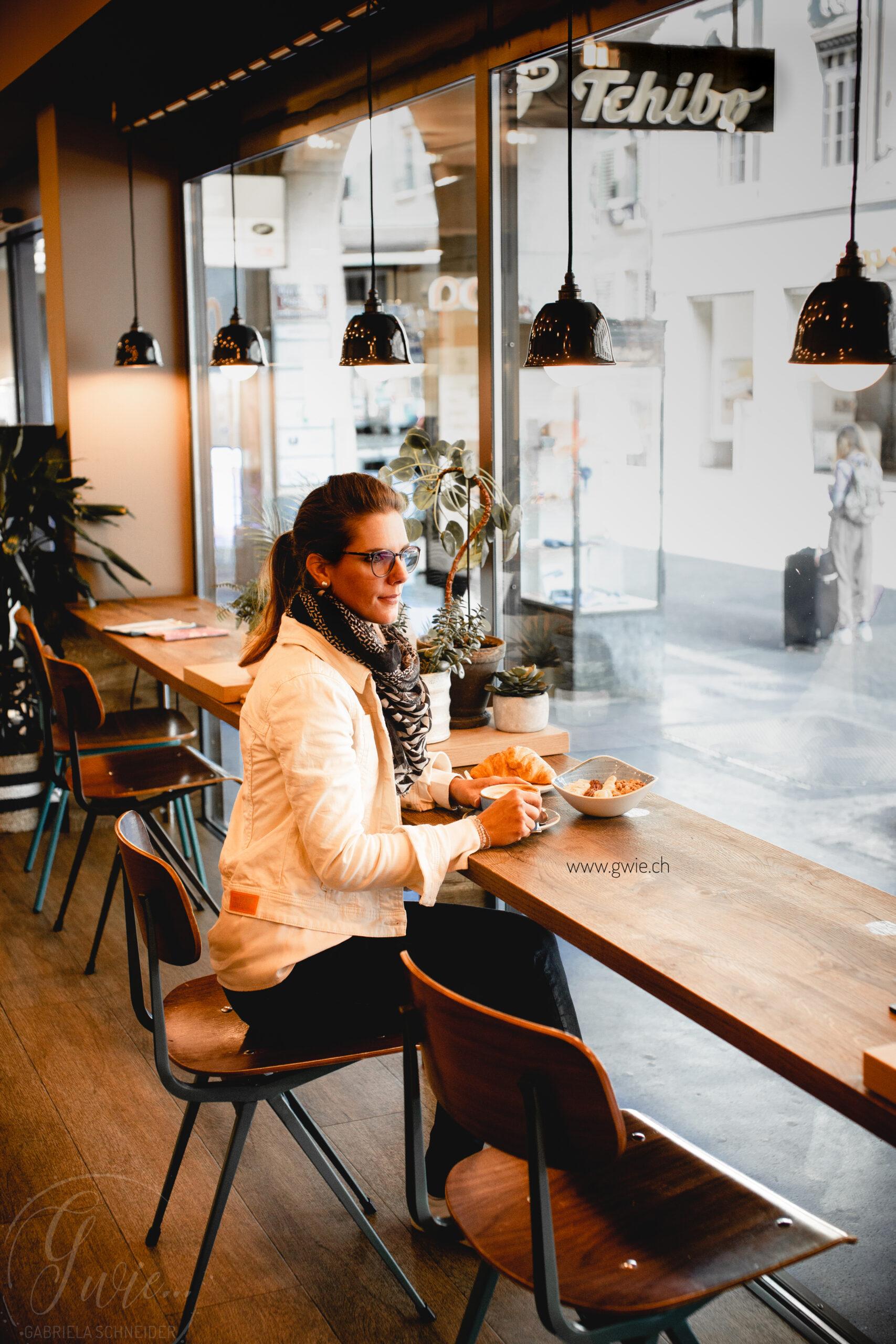 Ein Frühstück im Kaffeehaus Max